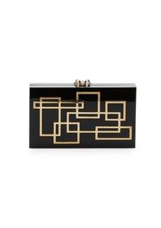 Charlotte Olympia Geometric Pandora Clutch & Pouch Set