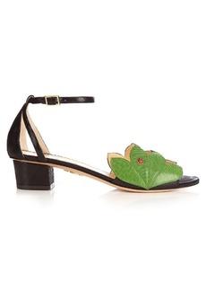 Charlotte Olympia Innocent block-heel sandals