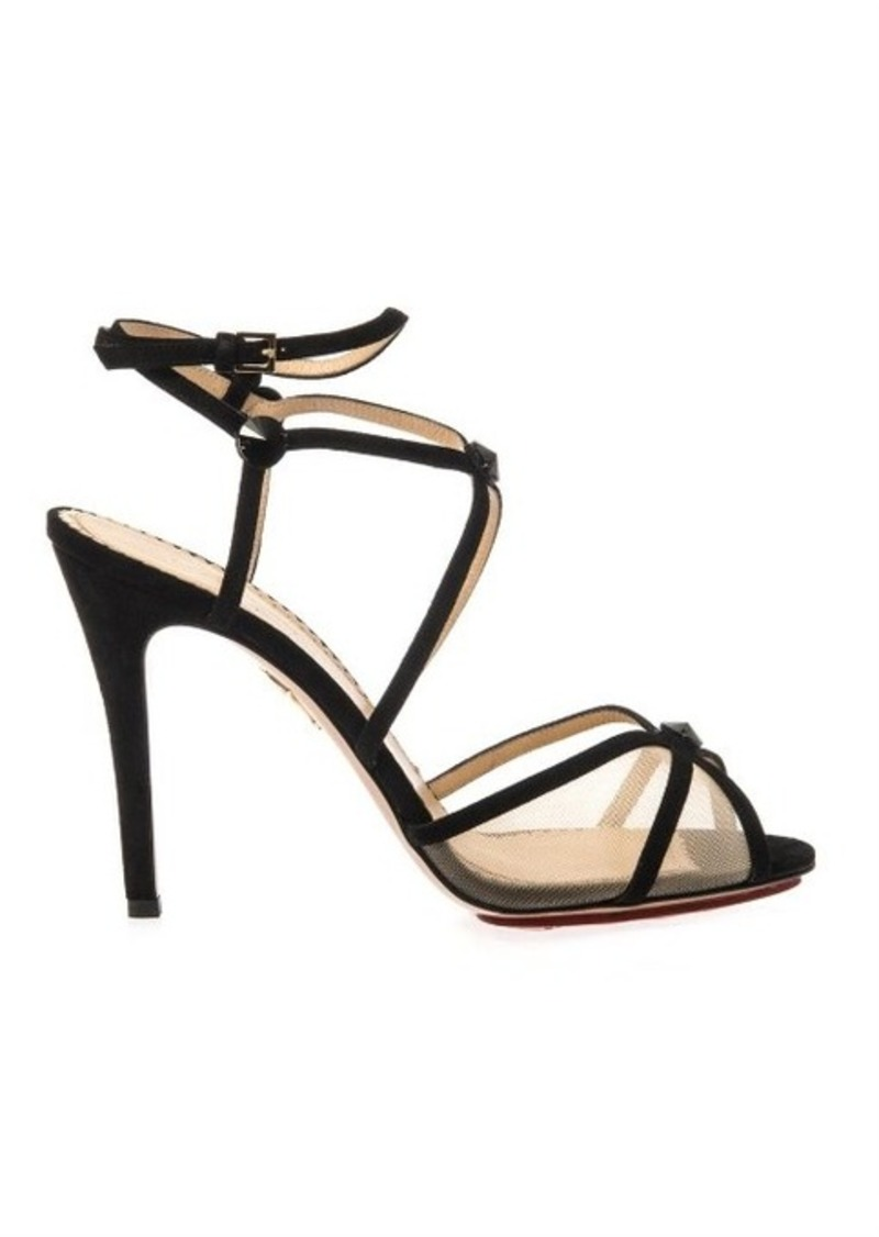 Charlotte Olympia Isadora suede sandals