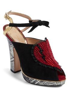 Charlotte Olympia Killer Heels Sandal (Women)