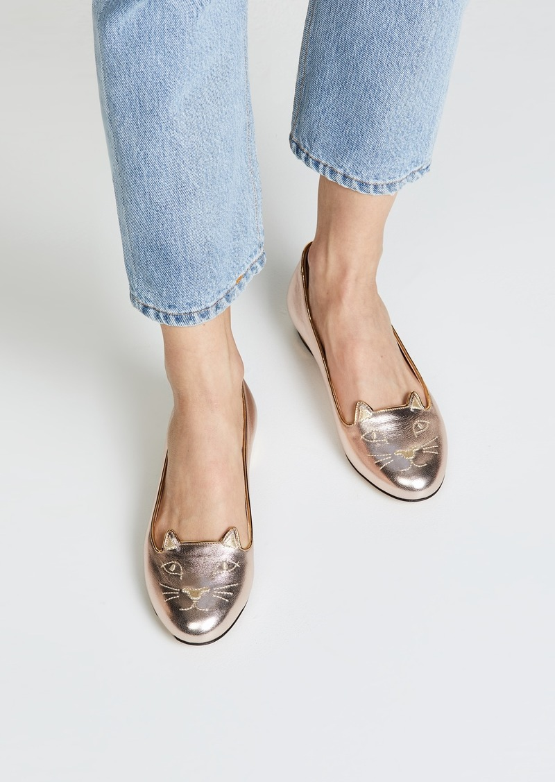 76af1256d Charlotte Olympia Charlotte Olympia Kitty Flats | Shoes