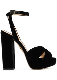 Charlotte Olympia platform open-toe sandals - Black