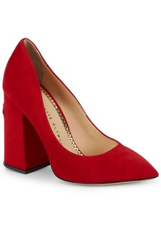 Charlotte Olympia Point Toe Leather Pump