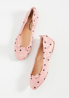 Charlotte Olympia Polka Dot Kitty Flats