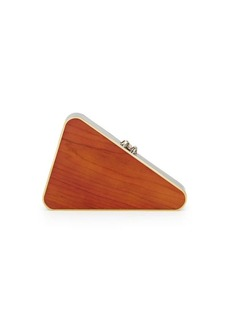 Charlotte Olympia Triangular Clutch