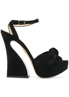 Charlotte Olympia Vreeland sandals - Black