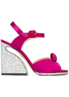Charlotte Olympia 'Vreeland' sandals - Pink & Purple
