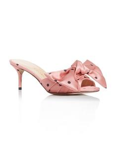 Charlotte Olympia Women's Bow Kitten-Heel Sandals