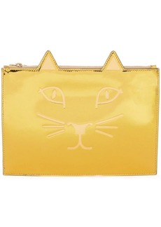 Charlotte Olympia Kitty clutch
