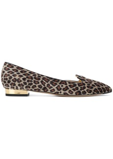 Charlotte Olympia leopard print ballerina shoes