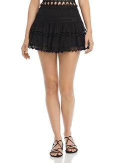 Charo Ruiz Ibiza Greta Lace Mini Skirt