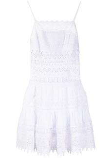 Charo Ruiz Ibiza crochet flared short dress