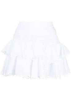 Charo Ruiz Ibiza ruffled mini skirt