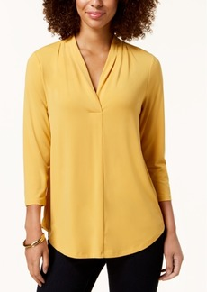 Charter Club 3/4-Sleeve Top, Created for Macy's
