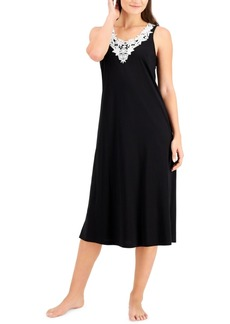 Charter Club Petite Applique Nightgown, Created for Macy's