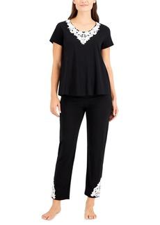 Charter Club Applique Pajama Set, Created for Macy's