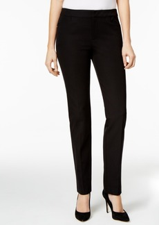 Charter Club Bi-Stretch Slim-Leg Pants, Only at Macy's