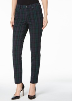 Charter Club Bristol Plaid Straight-Leg Jeans, Only at Macy's