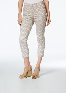 Charter Club Bristol Print Capri Jeans, Only at Macy's