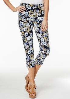 Charter Club Bristol Printed Capri Jeans, Only at Macy's