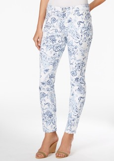 Charter Club Bristol Printed Slim-Leg Ankle Jeans, Only at Macy's