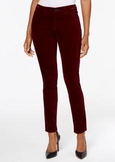 Charter Club Bristol Velveteen Skinny Pants, Only at Macy's