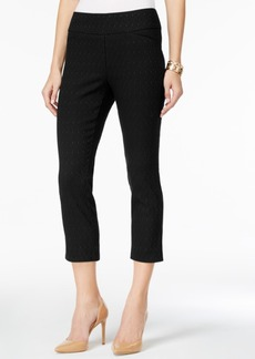 Charter Club Cambridge Jacquard Capri Pants, Created for Macy's
