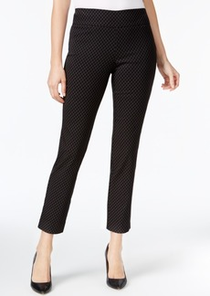 Charter Club Cambridge Printed Tummy-Control Ankle Pants, Created for Macy's