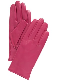Charter Club Cashmere Lined Leather Tech Gloves, Created for Macy's