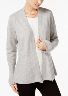 Charter Club Cashmere Peplum Cardigan, Created for Macy's