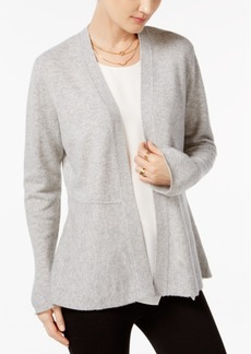 Charter Club Cashmere Peplum Cardigan, Only at Macy's