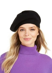 Charter Club Cashmere Rib Beret, Created for Macy's