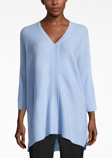 Charter Club Cashmere Textured V-Neck Sweater, Only at Macy's