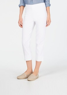 Charter Club Chelsea Pull-On Tummy-Control Capris, Created for Macy's
