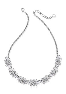 Charter Club Clear & Colored Crystal Necklace, Created for Macy's