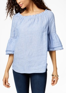 Charter Club Convertible Linen Top, Created for Macy's