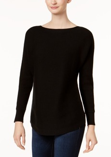 Charter Club Cotton Dolman-Sleeve Sweater, Created for Macy's