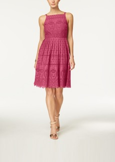 Charter Club Cotton Lace Halter Dress, Created for Macy's