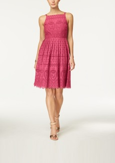 Charter Club Cotton Lace Halter Dress, Only at Macy's