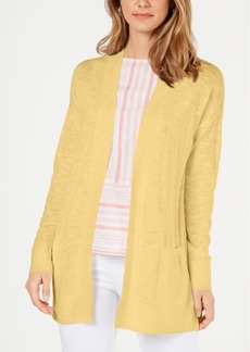 Charter Club Cotton Long Cardigan, Created for Macy's