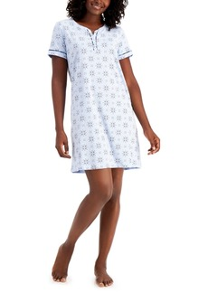 Charter Club Cotton Sleep Shirt Nightgown, Created for Macy's