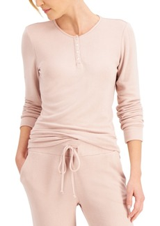 Charter Club Cozy Soft Loungewear Top, Created for Macy's