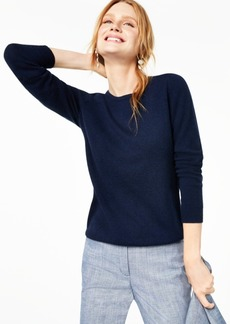 Charter Club Crew-Neck Cashmere Sweater, Regular & Petite Sizes, Created for Macy's