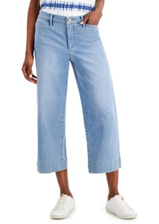 Charter Club Cropped Wide-Leg Jeans, Created for Macy's