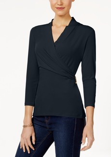 Charter Club Crossover Top, Only at Macy's