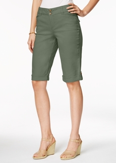 Charter Club Cuffed Bermuda Shorts, Only at Macy's