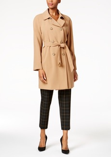 Charter Club Double-Breasted Trench Coat, Created for Macy's