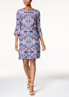 Charter Club Embellished Printed Dress, Created for Macy's