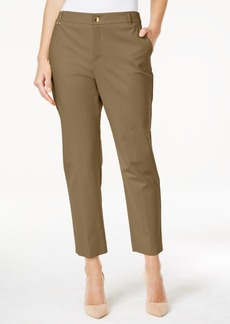 Charter Club Embellished Slim-Fit Ankle Pants, Only at Macy's