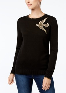 Charter Club Embellished Sweater, Created for Macy's
